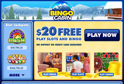 Bingo Cabin screenshot